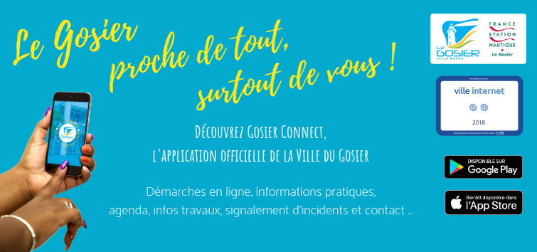 Gosier Connect, l'application officielle de la ville du Gosier !